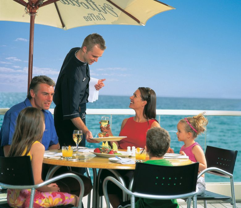 Shopping and Oceanfront Dining at Showcase on the Beach