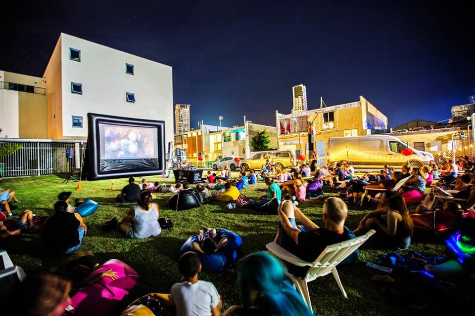 Enjoy Christmas Movies Under the Stars on the Gold Coast in December!