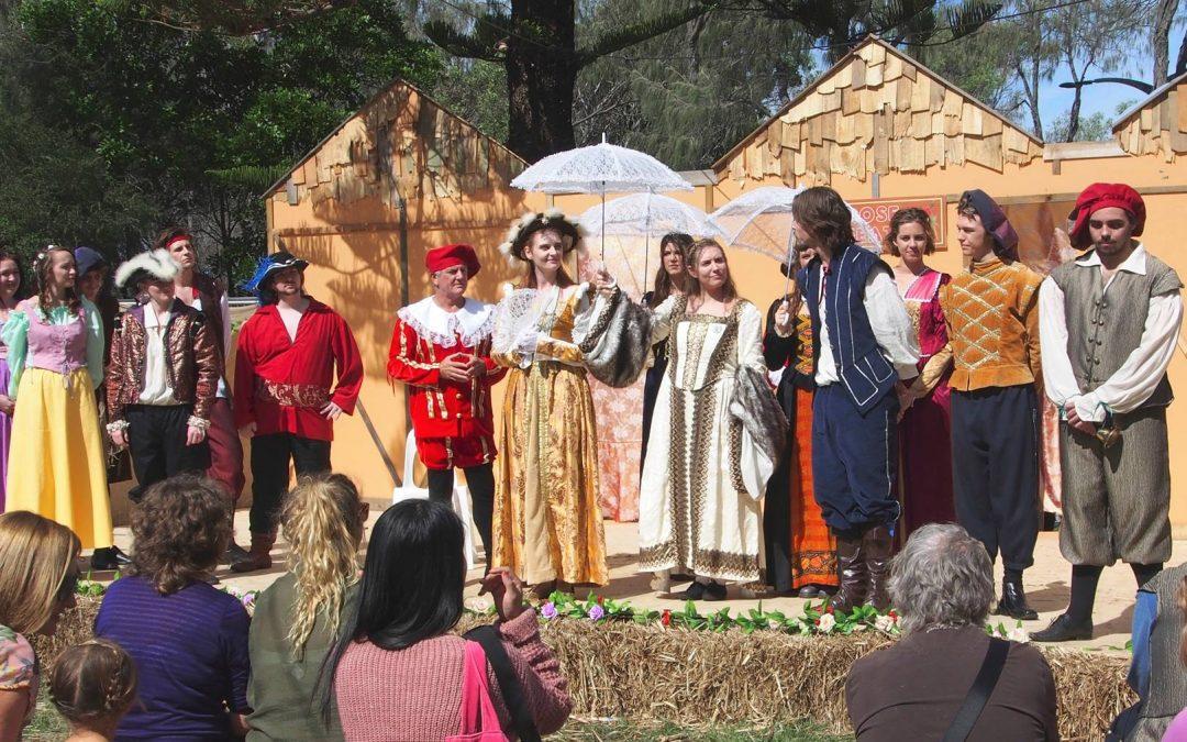 Be part of the Gold Coast Renaissance Faire