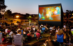 Movies Under the Stars in Palm Beach