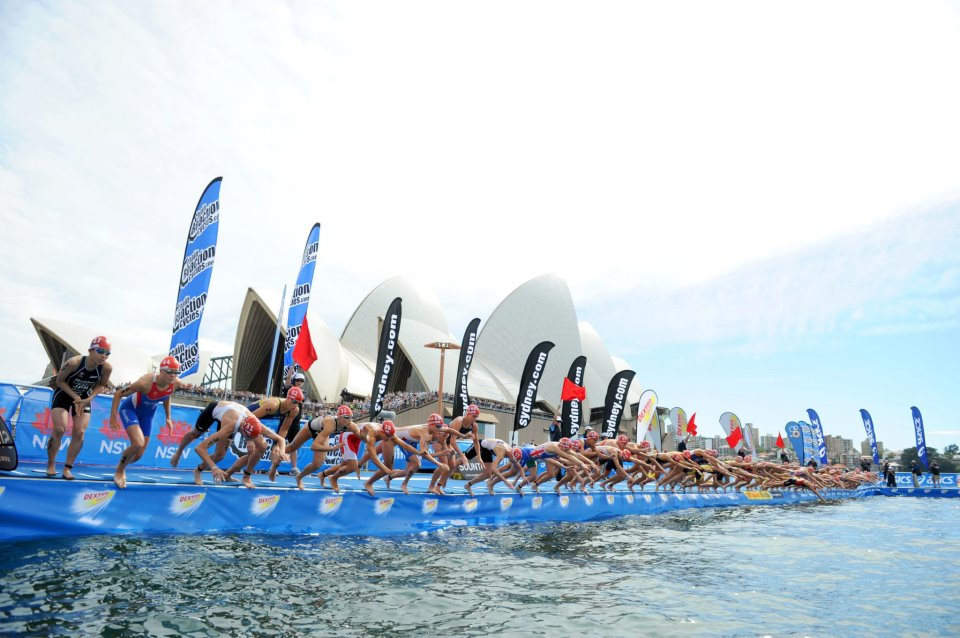 Join the ITU World Triathlon Series on the Gold Coast